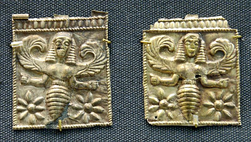 Goddess of bee symbols of the plague